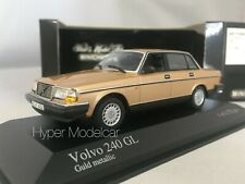 MINICHAMPS 1/43 Volvo 240 GL 1985 Gold Metallic Art. 400171400