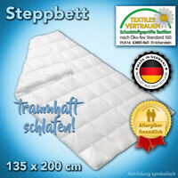 FAN Frankenstolz 135x200cm Allergiker Bettdecke Mikrofaser Steppdecke waschbar