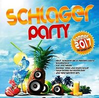 SCHLAGER PARTY 2017/SOMMER EDITION  2 CD NEU