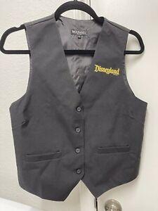 Disneyland Resort Cast Member Halloween Time Vest Uniform Size Small