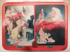 1996 Coke Coca-Cola Christmas Santa Playing Cards Set - Cards Sealed