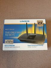 Linksys Max-Stream AC1900 MU-MIMO Fast Wireless Dual-Band WiFi Router for Home
