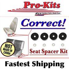 Mopar Dart Charger Roadrunner Cuda Bucket/Bench Seat Rail Mounting Spacer Kit