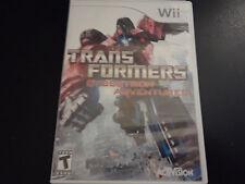 Transformers: Cybertron Adventures (Nintendo Wii, 2010) COMPLETE