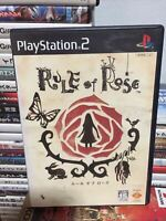 Used  Rule Of Rose PS2 PlayStation 2 Sony Entertainment Game Soft JAPAN