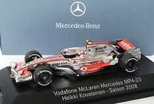 1:43 McLaren Mercedes MP 4-23 Formel 1 2008 23 Heikki Kovalainen, Dealer-Edition