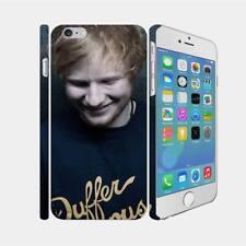 06 Ed Sheeran - Apple iPhone 7 8 X Hardshell Back Cover Case
