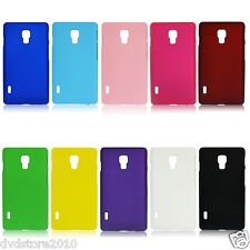 Custodia BACK Cover Case Hard Rigida Matte Plastica Colorata per Huawei Ascend
