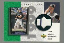Randy Johnson 2002 Upper Deck 1999 Game Worn Jersey