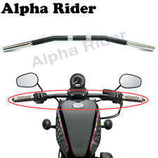 1Inch 1'' 25mm XL Sportster Zero Drag Bar  HandleBar For Harley 883 1200 Chopper