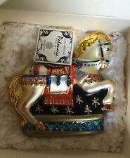 Kurt Adler Carousel Horse Polonaise Ornament & Collector's Membership Kit Nib