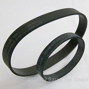 Hoover Concept Power Drive Vacuum Belt Set 38528008 160147 40201030 40201049