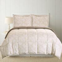 Ebern Designs East Village Printed Down Alternative Reversible Comforter Set