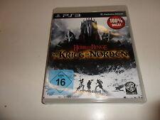 PlayStation 3  Der Herr der Ringe: Der Krieg im Norden