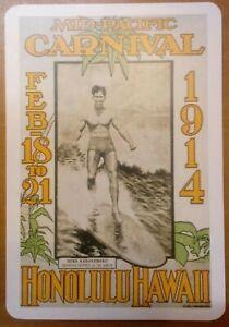 Hawaii Duke Kahanamoku 1914 Honolulu Carnival 1914 Vintage postcard remake?