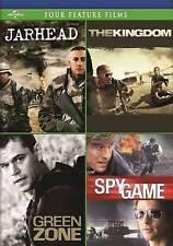 JARHEAD/THE KINGDOM/GREEN ZONE/SPY GAME (DVD, 2014, 4-Disc Set) NEW