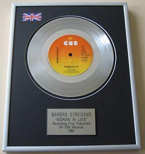BARBRA STREISAND Woman In Love PLATINUM PRESENTATION DISC