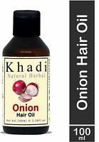 Khadi Natural Herbal Red Onion Hair Oil For Hair Growth With Pure Coconut 100 ml