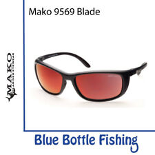 Mako Blade 9569 Matte Black Glass HD Grey Red Mirror M01-G0H2