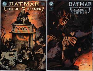 DC - Batman League Of Batmen 1-2 Prestige Format Elseworlds Mini Series 2001