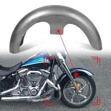Custom Front Fender 120/70-21 Steel Tire Wheel For Harley Touring Softail