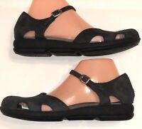 Dansko Sandals Closed Toe Black size  39, US 8-8.5