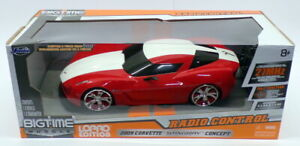 Jada 1/18 Scale 27MHz RC Car 84711 - 2009 Chevrolet Corvette Stingray Concept