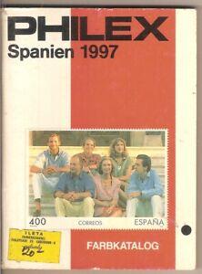 CATALOGO PHILEX - SPANIEN 1997