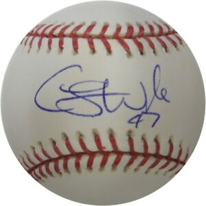 Cory Wade Hand Signed Autographed Major League Baseball LA Dodgers Royals