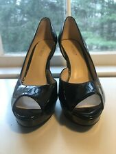 Nine West Black Heels Size 6 1/2