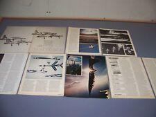 VINTAGE..1975 USAF THUNDERBIRDS HISTORY..HISTORY/PHOTOS/DETAILS..RARE! (698M)