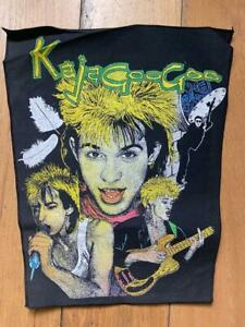 Vintage - KAJAGOOGOO - Large Back Patch Jacket / Motorcycle - New Wave Band