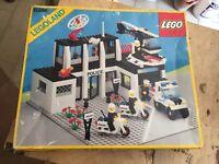 Lego Police 6386 COMPLETO 1991 Vintage Box Legoland