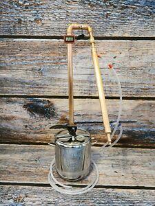 Copper Distiller 9l 28mm diameter Pot Still moonshine spirits alcohol