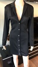 Azzedine Alaia Vintage Knit Black Dress S