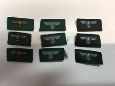 GLORY VENTURE 1/6 Embroidered German Uniform Chest Eagles - Set Of 9 - TOY
