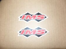 2 NEW IMS ATV MX STICKER DECAL HONDA TRX 250R 450R LTR 450