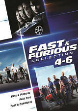 Fast and Furious Collection: 4-6 (DVD, 2016, 3-Disc Set)