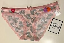 Primark Donna Disney Tamburino Bambi Coniglio Slip Perizoma Pantaloni Mutande Uk S 6-8