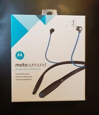 Moto Surround Wireless Earbuds Motorola Bluetooth 89807N Headset. New