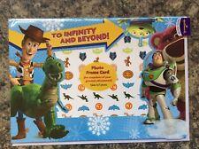 HALLMARK Photo Holder ~ Christmas Card ~ Toy Story 3 Design