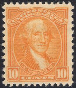 #715 XF MNH 10¢ GEORGE Washington Bicentenial With BIG MARGINS (REM #715-2)