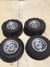 Off Road ATV/UTV Tires on Aluminum Rims