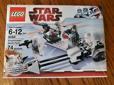 LEGO Star Wars Snow Trooper Battle Pack (8084) COMPLETE 74pc 4 Minifigures & Box