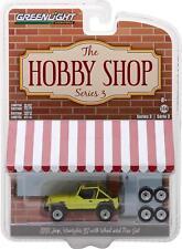 Greenlight 97030-D 1:64 Hobby Shop Series 3 1991 Jeep YJ Mud Spray & Spare Tires