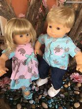 American Girl  Bitty Baby Twins, Blonde Hair Blue  Eyes.