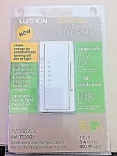 Lutron MA-T530GH eco-timer countdown timer switch