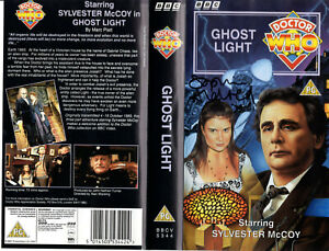 Doctor Who: GHOST LIGHT VHS Cover Signed by Sophie Aldred