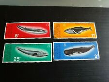 BRITISH ANTARCTIC TERRITORY 1977 SG 79-82 WHALE CONSERVATION USED