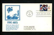 US FDC #1259 Anderson M-1 1964 Washington DC Abstract Fine Arts